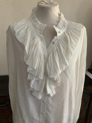 Zadig & Voltaire Jedwabna bluzka w kolorze białej wełny
