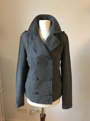 H&M Pea Jacket grey