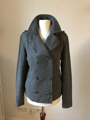H&M Pea Jacket grey