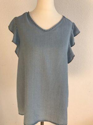 Esmara Camicetta con arricciature azzurro