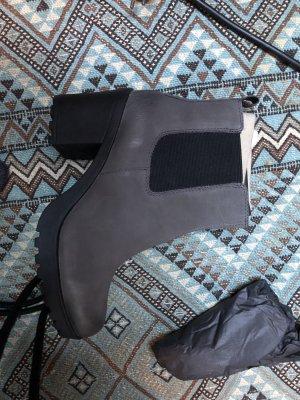 Vagabond Chelsea Boot gris foncé-noir cuir