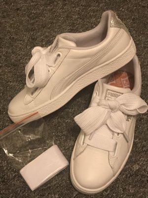 Neue Weiße Puma Sneaker Gr. 38,5