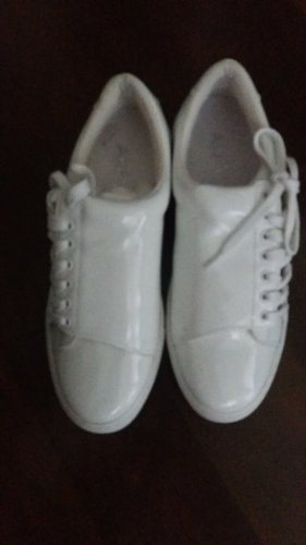 Alba Moda Sneakers met veters wit