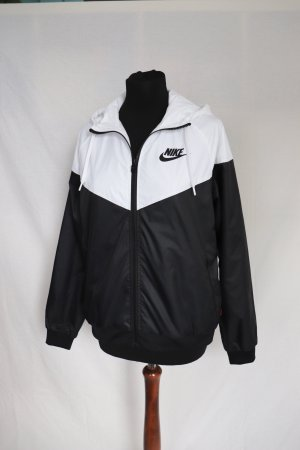 Nike Coupe-vent blanc-noir