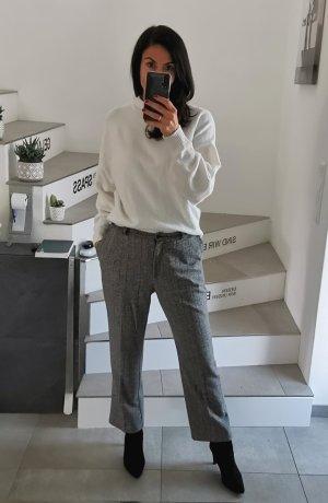 Sixth Sense Pantalon en laine blanc-gris