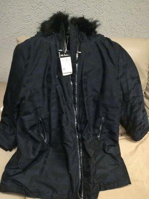 Ulla Popken Winter Coat dark blue