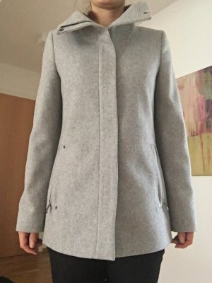 Esprit Veste en laine gris clair-argenté