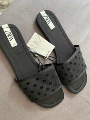 Neue Zara Sandalen Gr  40