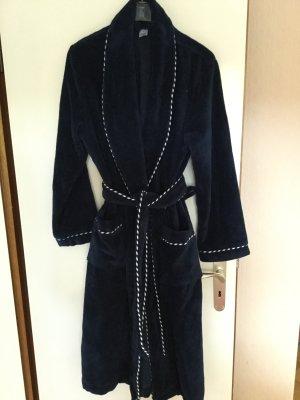 Calida Traje de baño de mujer azul oscuro-blanco Algodón