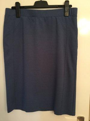 Rabe Jupe stretch bleu foncé viscose