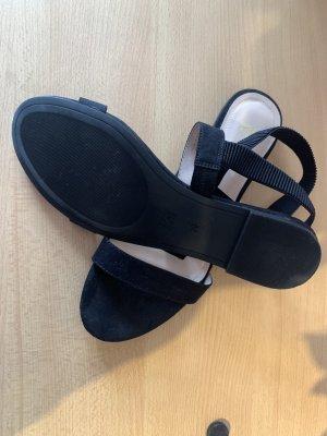 H&M Sandalo con plateau nero