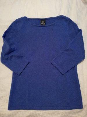 Madeleine Cashmere Jumper steel blue cashmere