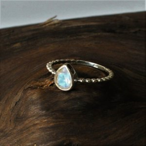 Sterling Silber Anello d'argento multicolore