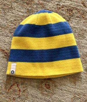 Burton Bonnet jaune-bleu fluo