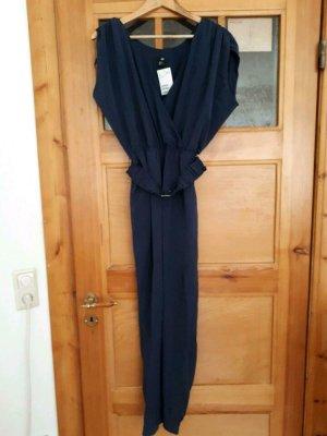 Neuer, blauer Jumpsuit, H&M, XS