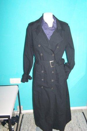b.p.c. Bonprix Collection Cappotto lungo fino a terra nero Cotone