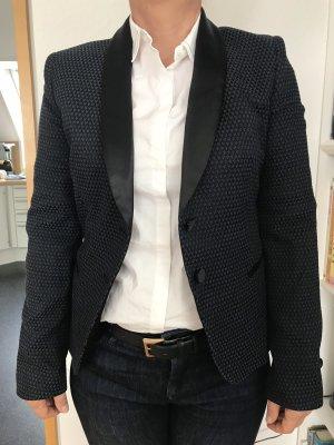 Neuer Business Blazer von Benetton, Satin Revers