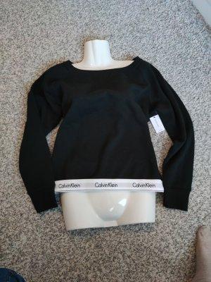Calvin Klein Sweter z okrągłym dekoltem czarny