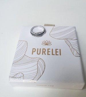 Juwelier Anillo de plata color plata