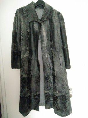 Pelliccia grigio scuro-grigio Pelliccia