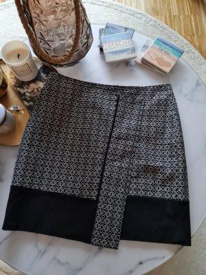 Edc Esprit Asymmetry Skirt white-black