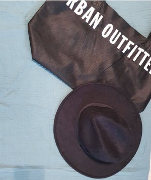 Urban Outfitters Sombrero de fieltro negro