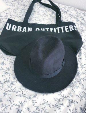 Urban Outfitters Vilten hoed zwart