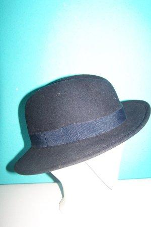 Cappello in feltro blu scuro