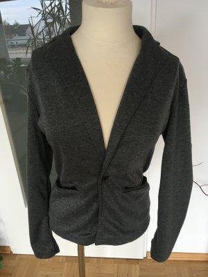 Mymstorm Blazer in maglia grigio scuro-grigio