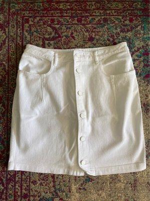 Guess Jeansowa spódnica biały