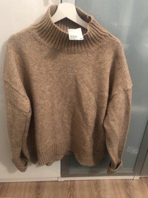 H&M Oversized Sweater camel-beige