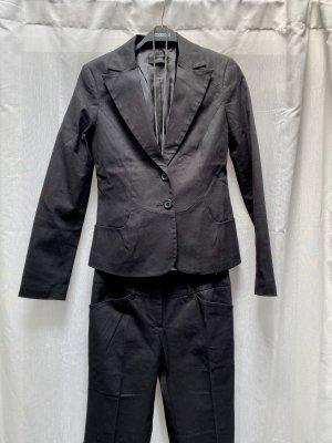 Neuer Hosenanzug Vero Moda, schwarz, Gr. 34; Blazer + Hose, NP 90€