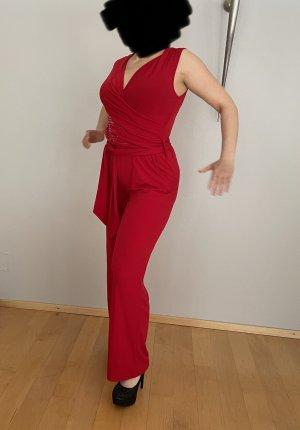 BODY FLIRT Jumpsuit rood-donkerrood