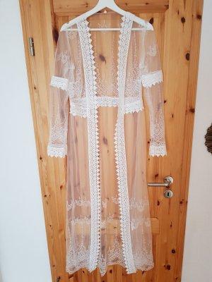 Vanilia Kimono bianco-bianco sporco