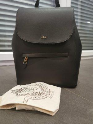 Ralph Lauren Shoulder Bag black leather