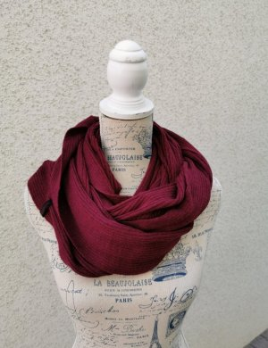 New Yorker Snood donkerrood