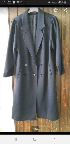 Abito cappotto blu scuro