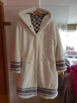 neuer Mantel mit Kapuze Fake Fur Gr. 42 von Sportalm