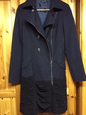 Apriori Manteau d'hiver noir-bleu