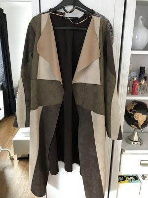 Neuer Mantel Wildlederimitat von Zara