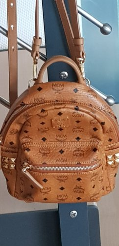 MCM Backpack Trolley brown