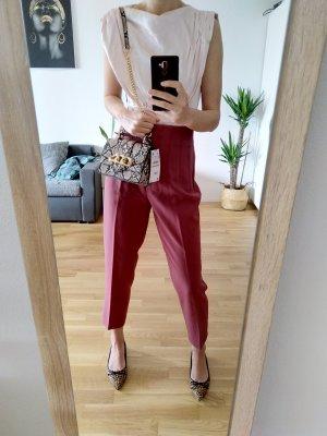 Zara Blusa tipo body rosa empolvado-rosa