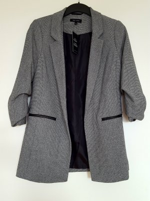 New Look Blazer zwart-grijs Polyester