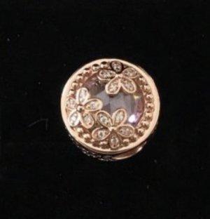 Neuer NP99 Pandora Funkelndes Rosafarbenes Gänseblümchen Charm