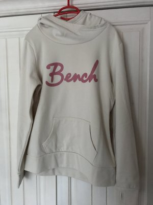 Bench Fleece Jumper natural white-neon pink