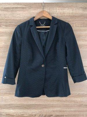 NEUER Orsay Business Look Blazer, blau + weiß gepunktet