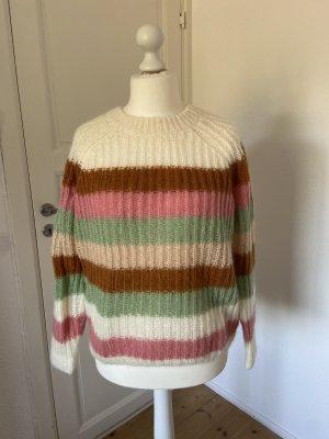 AndOtherStories Jersey de cuello redondo multicolor mohair