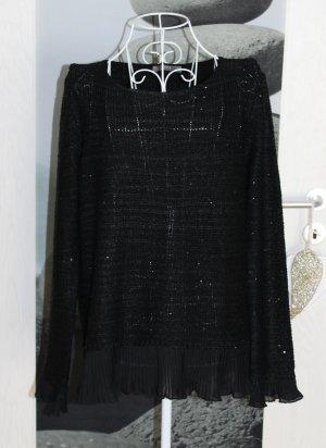• Neuer Pailletten Pullover
