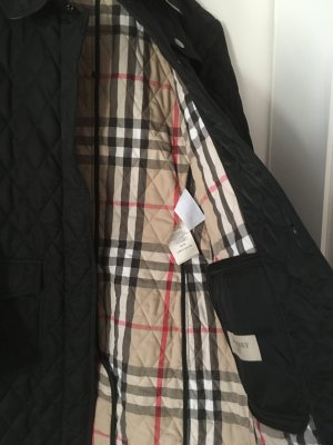 Burberry Brit Quilted Coat multicolored cotton