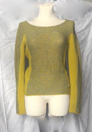 NEUER Pullover ALEXANDER WANG grau gelb oliv multicolor / dt 38/ NP 729 €